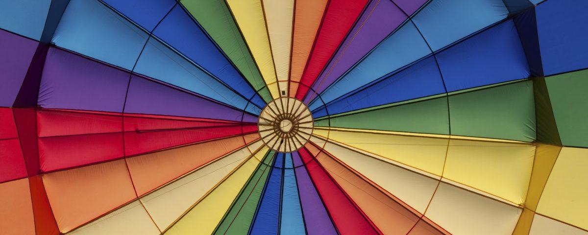 انواع رنگ شکوه نور