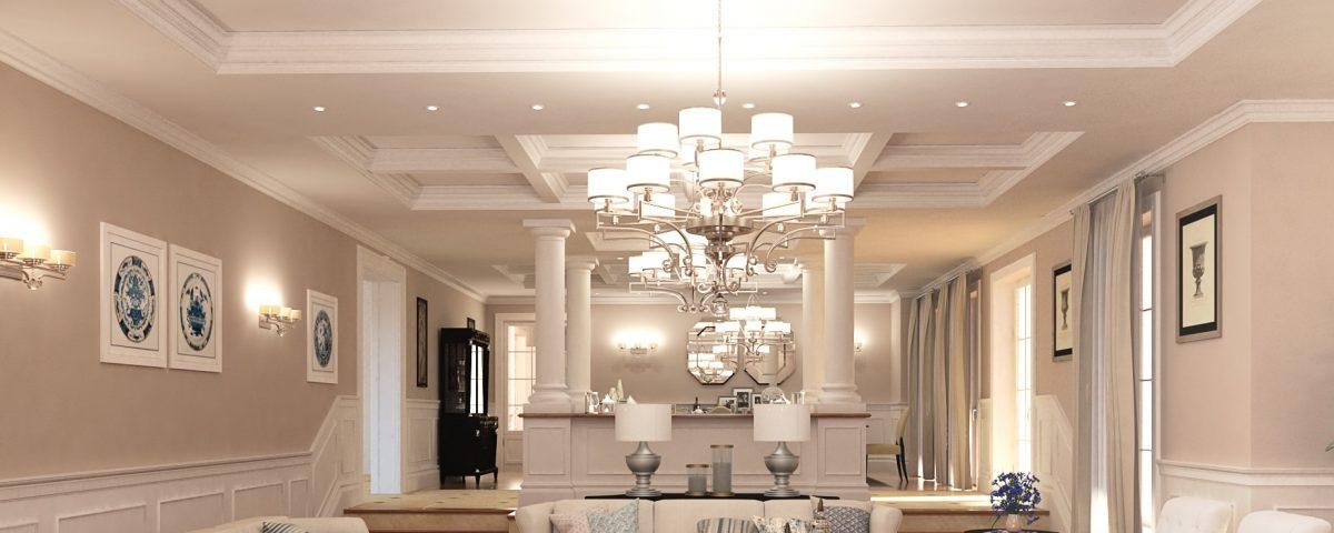 انواع نورپردازی در معماری