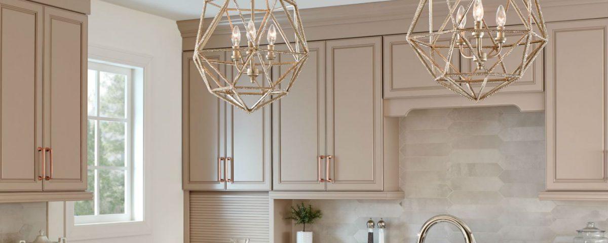 لوستر مدرن آشپزخانه 1398 شکوه نور